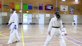 Kumite: Pt 2 Distance after striking: In out, or In in