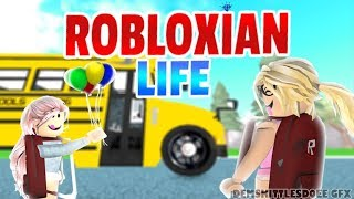 Playing Robloxian Life In ROBLOX