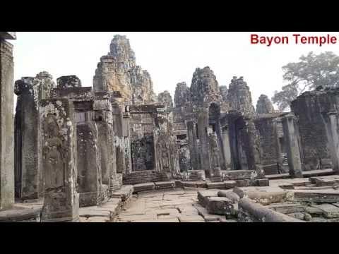 Most Beautiful Images Of Bayon Temple  Angkor Thom  In Siem Reap Angkor 2016