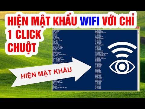 phần mềm hack mật khẩu wifi cho máy tính - Hiện tất cả MẬT KHẨU WIFI trên Windows chỉ với 1 click chuột | SHOW ALL WIFI PASSWORDS