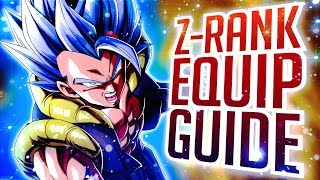 Dragon Ball Legends - HOW TO GET Z/S & A RANK EQUIPMENT! NEW EQUIP UPGRADE GUIDE!