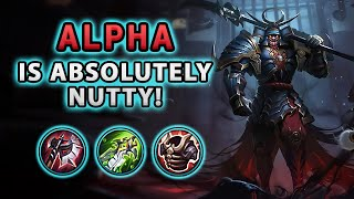 Wow! After The Buffs, Alpha Is Absolutely Nutty | Mobile Legends