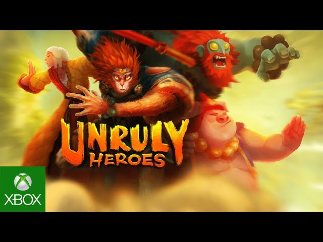 Unruly Heroes - Launch Trailer - Available Now