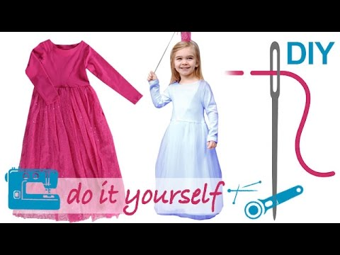 DIY Kleid nähen für Anfänger – Tüllkleid – Zierstoff Schnittmuster ...