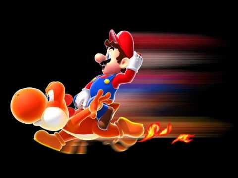 Super Mario Galaxy 2 Music - Hightail Falls Galaxy (Dash Yoshi) Extended
