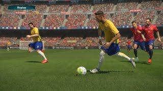 PES 2017 -  Espanha vs Brasil - Gameplay Pedido por Inscritos - Estádio Camp Nou - Modo ESTRELA