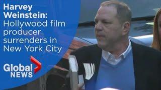 Harvey Weinstein turns himself into New York police