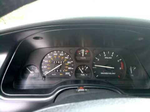 1995 Ford Thunderbird LX: Interior - YouTube