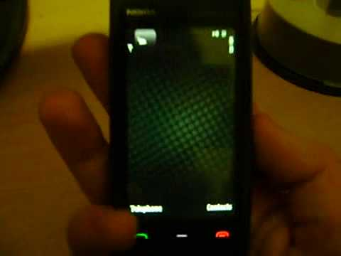 My Nokia 5530 XPressMusic Fault Demonstration.