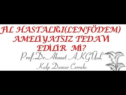 Fil Hastalığı (LenfÖdem) 'de PRP Tedavisi  - Prof. Dr. Ahmet AKGÜL
