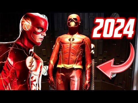 ¡Traje del 2024 en el Maniquí de STAR LABS! + ¡Fotos del set en STAR LABS! - The Flash Temporada 4