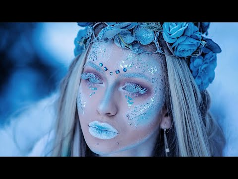 ICE QUEEN make-up tutorial by Isabelle Haziran ❄️👑 #IHMUA #DollFacebyHaziran