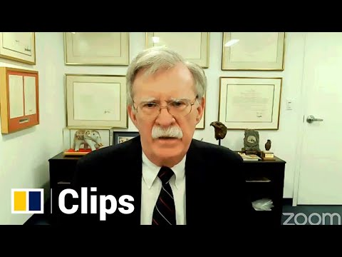 Ex-national security adviser Bolton disputes claims that Biden would ease China policy