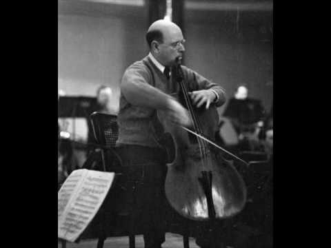 Pablo Casals: Dvorak Cello Concerto - 2nd mvt.