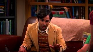 The Big Bang Theory - Raj explains the relationship of Penny and Leonard [HD]