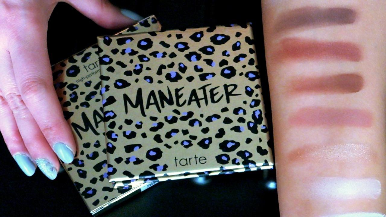 tarte maneater eyeshadow palette
