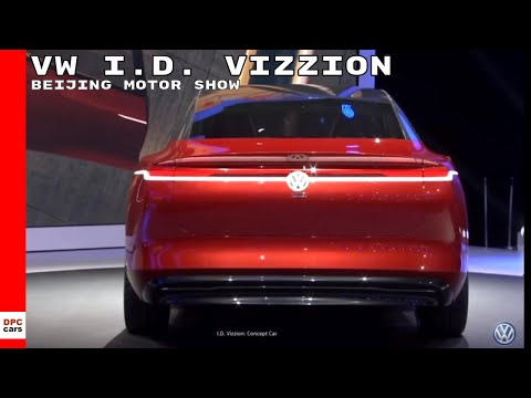 Volkswagen I.D. Vizzion At Beijing Motor Show – Auto China 2018