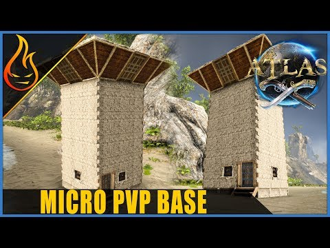 Micro PVP Tower Base Atlas MMO Build Guide