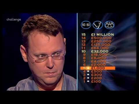 Series 15 Who Wants to be a Millionaire 28th February 2004