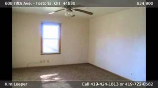 608 Fifth Ave. FOSTORIA OH 44830
