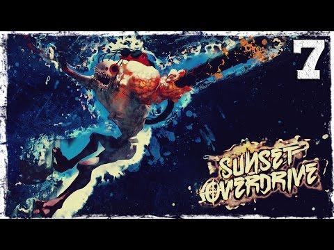 Смотреть прохождение игры [Xbox One] Sunset Overdrive. #7: Оно летит!