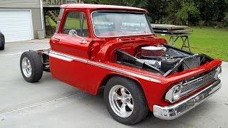1965 Chevrolet C10 Fleetside Pickup Truck Build Project