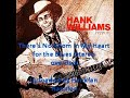 Hank Williams Sr.  There's No Room in My Heart for the Blues stereo overdub