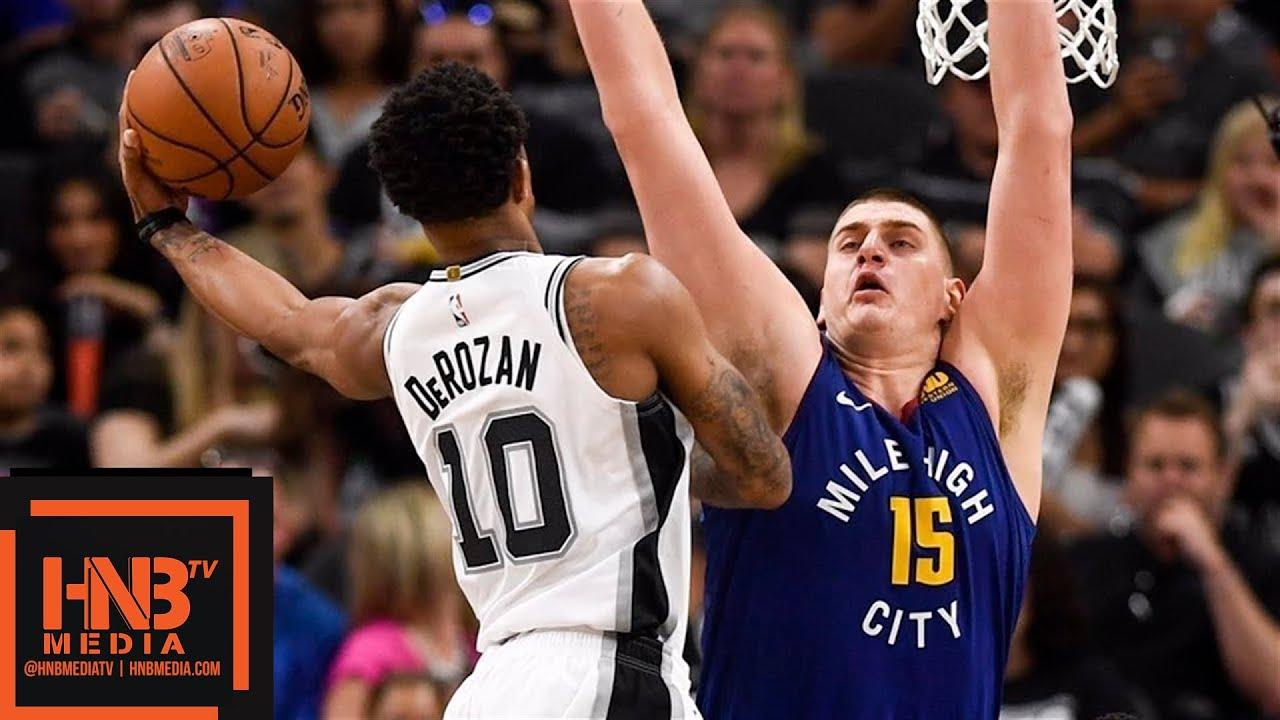Denver Nuggets Vs San Antonio Spurs Game 6 Full Game