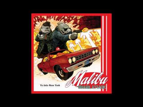 Yo Into New York - Malibu Shark Attack poster