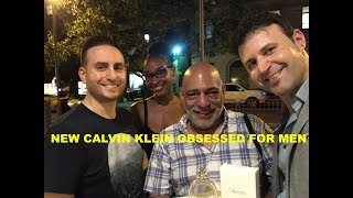 NEW Calvin Klein Obsessed for Men REVIEW with Redolessence, Max Forti, & Tiff Benson + GIVEAWAY
