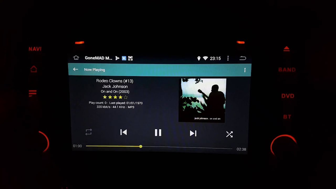 BMW E46 Android Head Unit Viper4Android FX settings