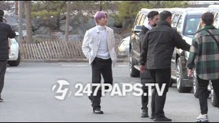 (NEW) (EXCLUSIVE) SUPER GROUP BTS in Brooklyn for a VIDEO / Photo Shoot in NYC 022020