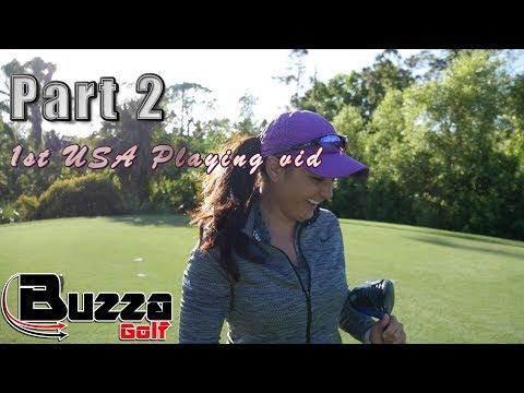6 Hole Challenge, PART 2 (1st USA Vlog)