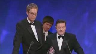 Ricky Gervais and Stephen Merchant - Comedy Awards Speech