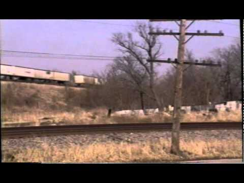 Santa Fe up and over the Burlington Northern