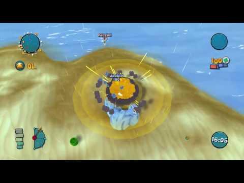 Worms Ultimate Mayhem   Deathmatch: bogdanviva (me) VS webking321 (SolidSunny954)  