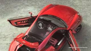 2013 Alfa Romeo Disco Volante Touring Interiors and Exteriors