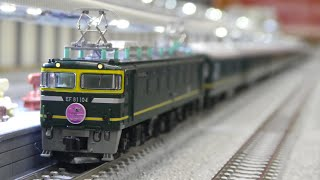 鉄道模型(Nゲージ):ポポンデッタ アリオ橋本 vol.20:EF81+24系 寝台特急 トワイライトエクスプレス」