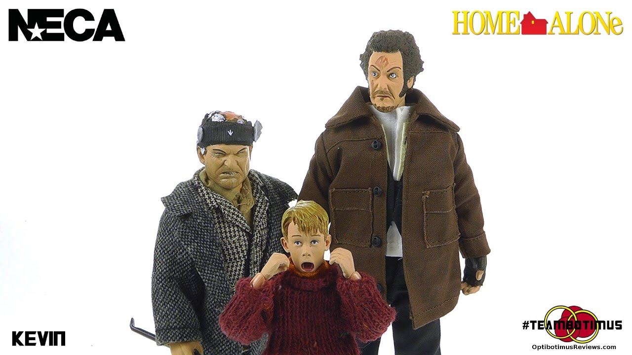 NECA Toys Home Alone 25th Anniversary Kevin McCallister Video