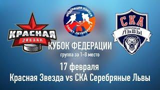 Красная Звезда 2010 vs СКА-Серебряные Львы 2010 (17.02.2019)