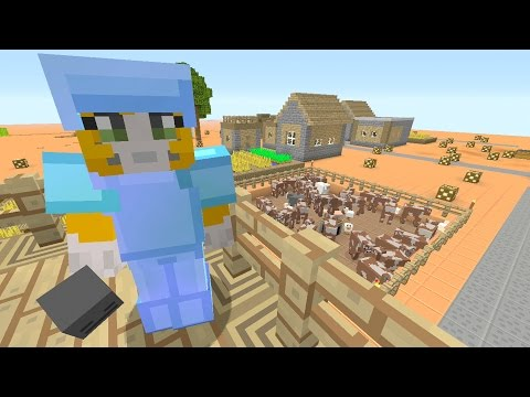 Minecraft Xbox - Stampy Flat Challenge - The Plan (22)