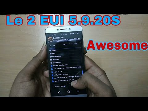 Install New Stable Update EUI 5 9 20S to LeEco Le 2 x526 « Insurance