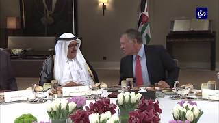 جلالة الملك يستقبل نائب حاكم دبي - (7-3-2018)
