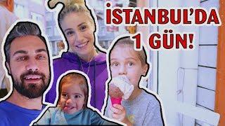 KAFASI KADAR DONDURMA YEDİ İstanbul'da Hep Beraberiz 😍  VLOG40
