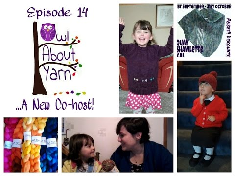 Owl About Yarn episode 14 - A New Co-host!