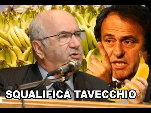 PARODIA TAVECCHIO - La squalifica dall'UEFA