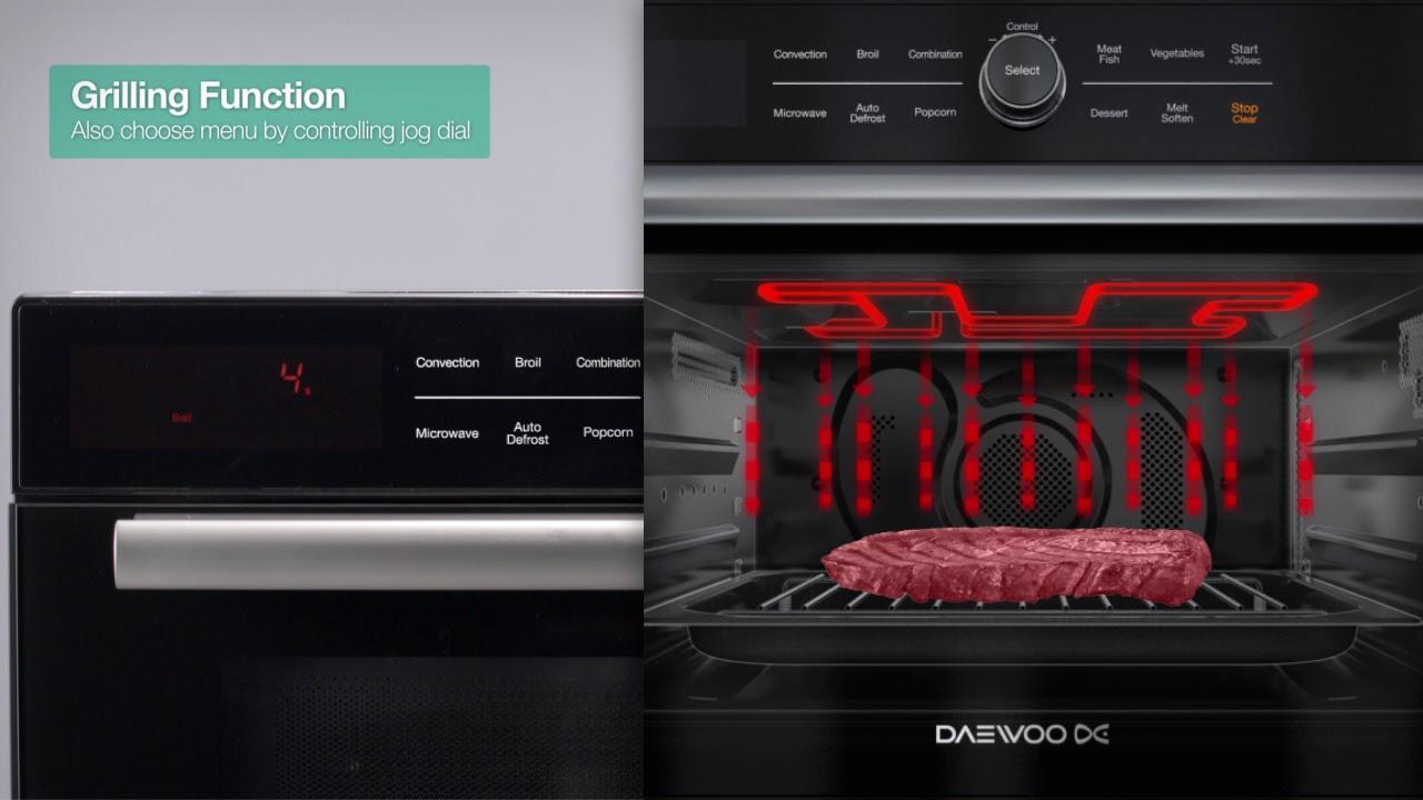 Daewoo 1 2 Cu Ft Multi Oven Grill