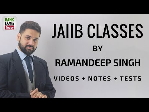 JAIIB Online Classes by Ramandeep Singh