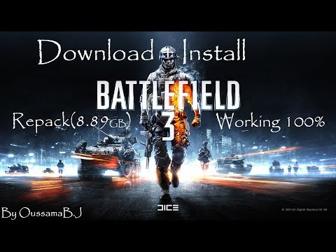 Download + Install Battlefield 3 (Pc Torrent) [Repack 8.89GB] Working 100% By Oussama B.J