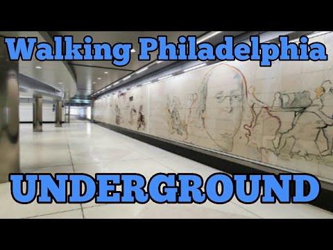 WALKING PHILADELPHIA UNDERGROUND